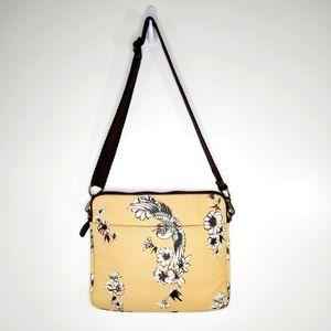 Lucky Brand padded canvas laptop crossbody  bag